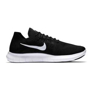 נעלי הליכה נייק לגברים Nike Free RN Flyknit 2017 - שחור