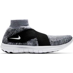 נעליים נייק לגברים Nike Free RN Motion Flyknit 2017 - אפור/שחור
