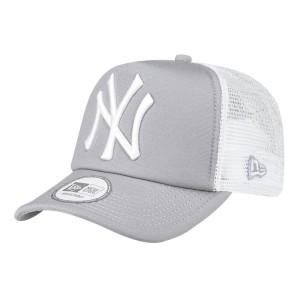 אביזרי ביגוד ניו ארה לגברים New Era Trucker New York Yankees - אפור/לבן
