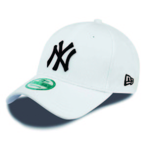 אביזרי ביגוד ניו ארה לגברים New Era 9 Forty New York Yankees - לבן