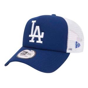 אביזרי ביגוד ניו ארה לגברים New Era Trucker Los Angeles Dodgers - כחול/לבן