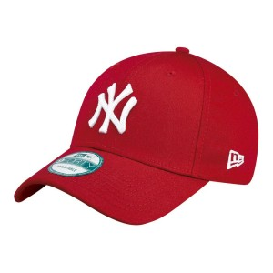 אביזרי ביגוד ניו ארה לגברים New Era 9 Forty New York Yankees - אדום