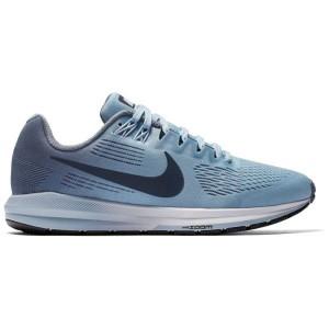 נעליים נייק לנשים Nike Air Zoom Structure 21 Wide - תכלת
