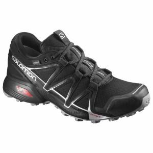 נעלי טיולים סלומון לגברים Salomon Speedcross Vario 2 Goretex - שחור