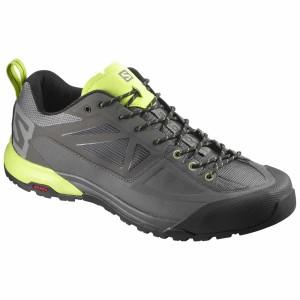 נעליים סלומון לגברים Salomon X Alp Spry - אפור/צהוב