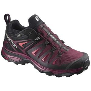 נעלי טיולים סלומון לנשים Salomon X Ultra 3 Goretex - שחור/סגול