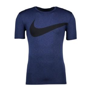 ביגוד נייק לגברים Nike Breathe Hyper Dry Top GFX - כחול