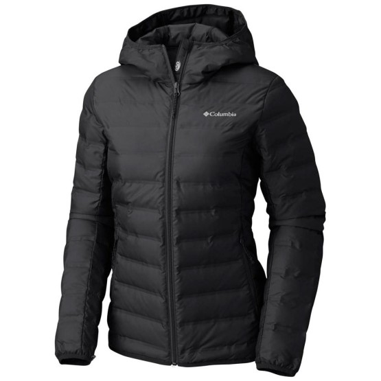בגדי חורף קולומביה לנשים Columbia Lake 22 Hooded - שחור