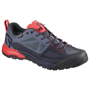 נעליים סלומון לנשים Salomon X Alp Spry Goretex - כחול כהה/ורוד