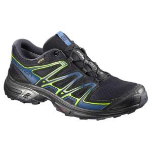נעלי טיולים סלומון לגברים Salomon Wings Flyte 2 Goretex - כחול כהה