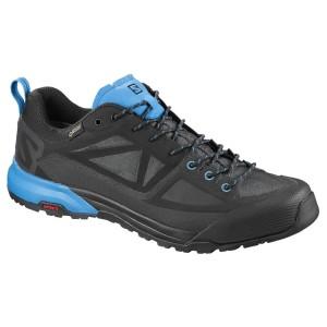 נעליים סלומון לגברים Salomon X Alp Spry Goretex - שחור/כחול