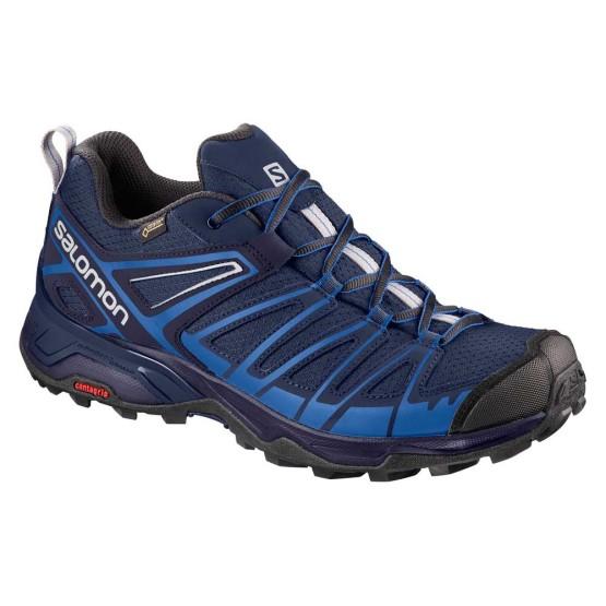 נעליים סלומון לגברים Salomon X Ultra 3 Prime Goretex - כחול