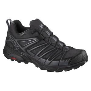 נעליים סלומון לגברים Salomon X Ultra 3 Prime Goretex - שחור