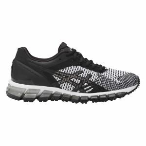נעלי הליכה אסיקס לנשים Asics Gel Quantum 360 Knit - לבן/שחור