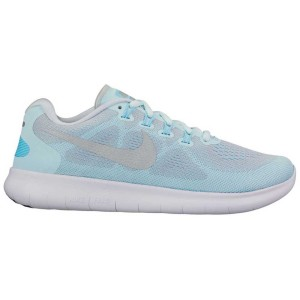 נעליים נייק לנשים Nike Nike Free RN 2017 - תכלת