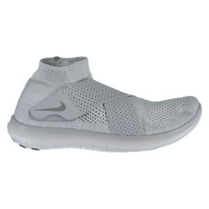 נעליים נייק לגברים Nike Free RN Motion Flyknit 2017 - אפור בהיר
