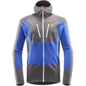 בגדי חורף הגלופס לגברים Haglofs Serac Hood - אפור/כחול