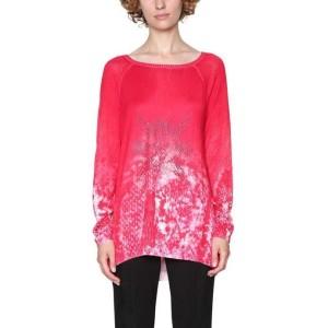 בגדי חורף דסיגואל לנשים Desigual Check To Check - ורוד