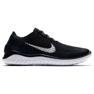 נעלי הליכה נייק לנשים Nike Free RN Flyknit - שחור