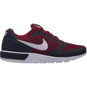 נעליים נייק לגברים Nike Nightgazer Low SE - אפור/אדום