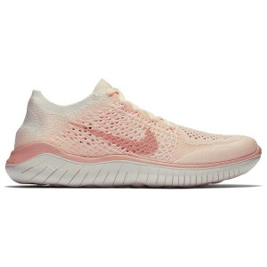 נעלי הליכה נייק לנשים Nike Free RN Flyknit - ורוד