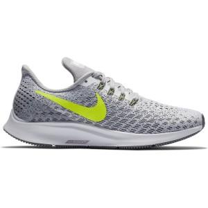 נעלי הליכה נייק לנשים Nike Air Zoom Pegasus 35 - אפור/צהוב