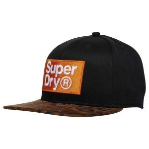 אביזרי ביגוד סופרדרי לגברים Superdry B Boy - שחור/חום