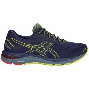 נעלי הליכה אסיקס לגברים Asics Gel Cumulus 20 G TX - כחול/צהוב