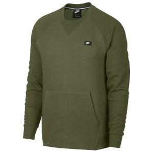 ביגוד נייק לגברים Nike Sportswear Optic Crew - ירוק