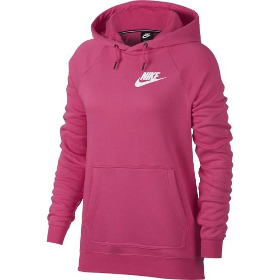 ביגוד נייק לנשים Nike Sportswear Rally Hooded - ורוד