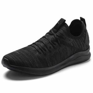 נעלי אימון פומה לגברים PUMA Ignite Flash Evoknit - שחור