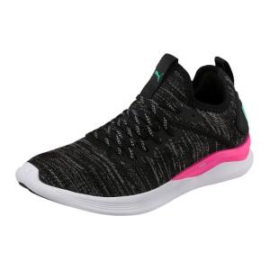 נעלי אימון פומה לנשים PUMA Ignite Flash Evoknit - שחור/ורוד