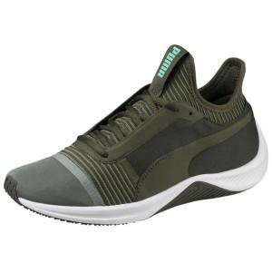 נעלי אימון פומה לנשים PUMA Amp XT - ירוק כהה