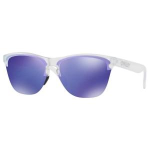 אביזרים Oakley לגברים Oakley Frogskins Lite - כחול/לבן