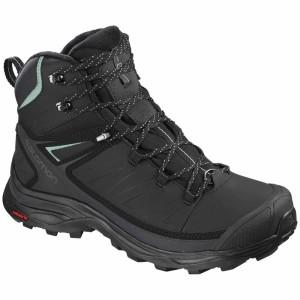 נעלי טיולים סלומון לנשים Salomon X Ultra Mid Winter CS WP - שחור