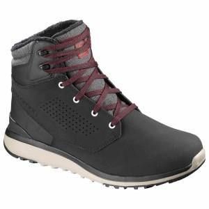 מגפיים סלומון לגברים Salomon Utility Winter CS WP - שחור