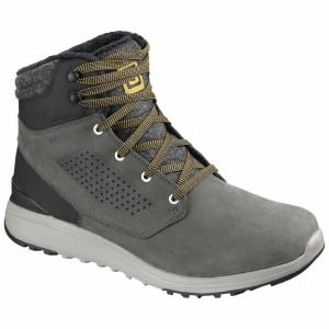 מגפיים סלומון לגברים Salomon Utility Winter CS WP - אפור