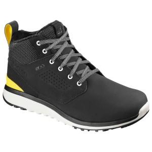 נעלי הליכה סלומון לגברים Salomon Utility Freeze CS WP - שחור/צהוב