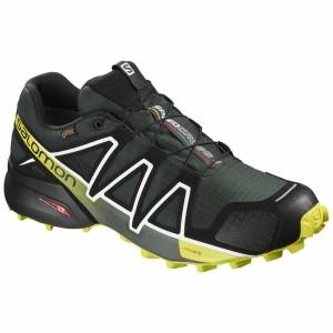 נעליים סלומון לגברים Salomon Speedcross 4 Goretex - שחור/צהוב