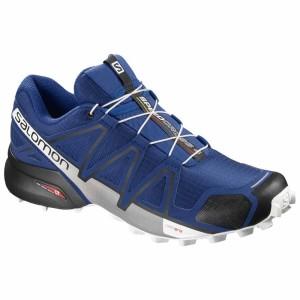 נעלי טיולים סלומון לגברים Salomon Speedcross 4 Wide - כחול