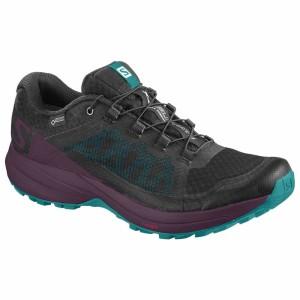 נעליים סלומון לנשים Salomon XA Elevate Goretex - שחור/סגול
