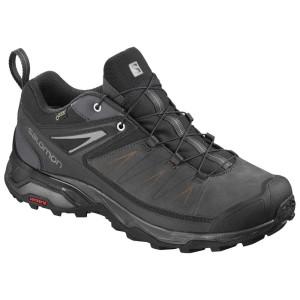 נעלי טיולים סלומון לגברים Salomon X Ultra 3 LTR Goretex - שחור