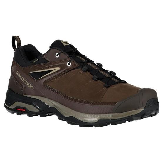נעליים סלומון לגברים Salomon X Ultra 3 LTR Goretex - חום