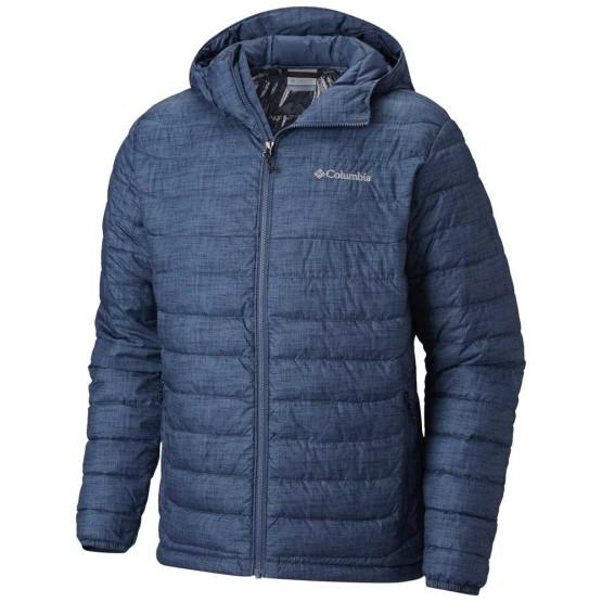 בגדי חורף קולומביה לגברים Columbia Powder Lite Hooded Big - כחול