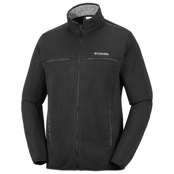 בגדי חורף קולומביה לגברים Columbia Terpin Point III Full Zip - שחור