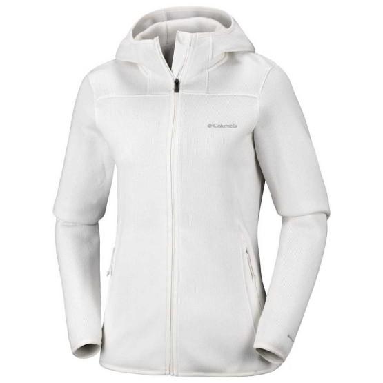 בגדי חורף קולומביה לנשים Columbia Altitude Aspect II Hoodie - לבן
