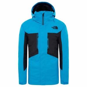 בגדי חורף דה נורת פיס לגברים The North Face Clement Triclimate - כחול