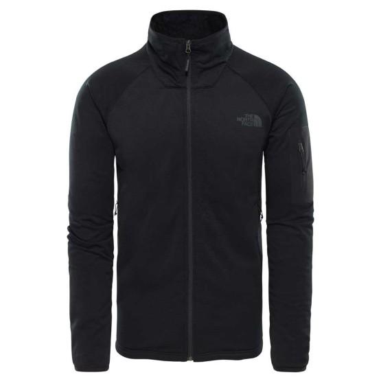 בגדי חורף דה נורת פיס לגברים The North Face Borod Full zip - שחור