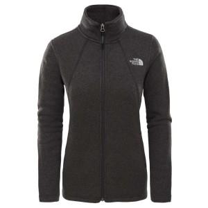 בגדי חורף דה נורת פיס לנשים The North Face Crescent Full Zip - שחור