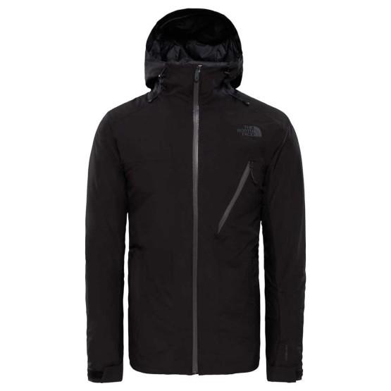 בגדי חורף דה נורת פיס לגברים The North Face Descendit Jacket - שחור